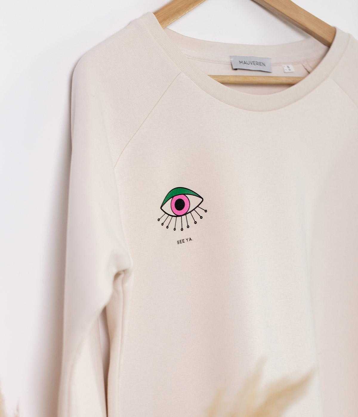 Cotton Blouse See Ya | Crewneck Sweatshirt | Mauverien